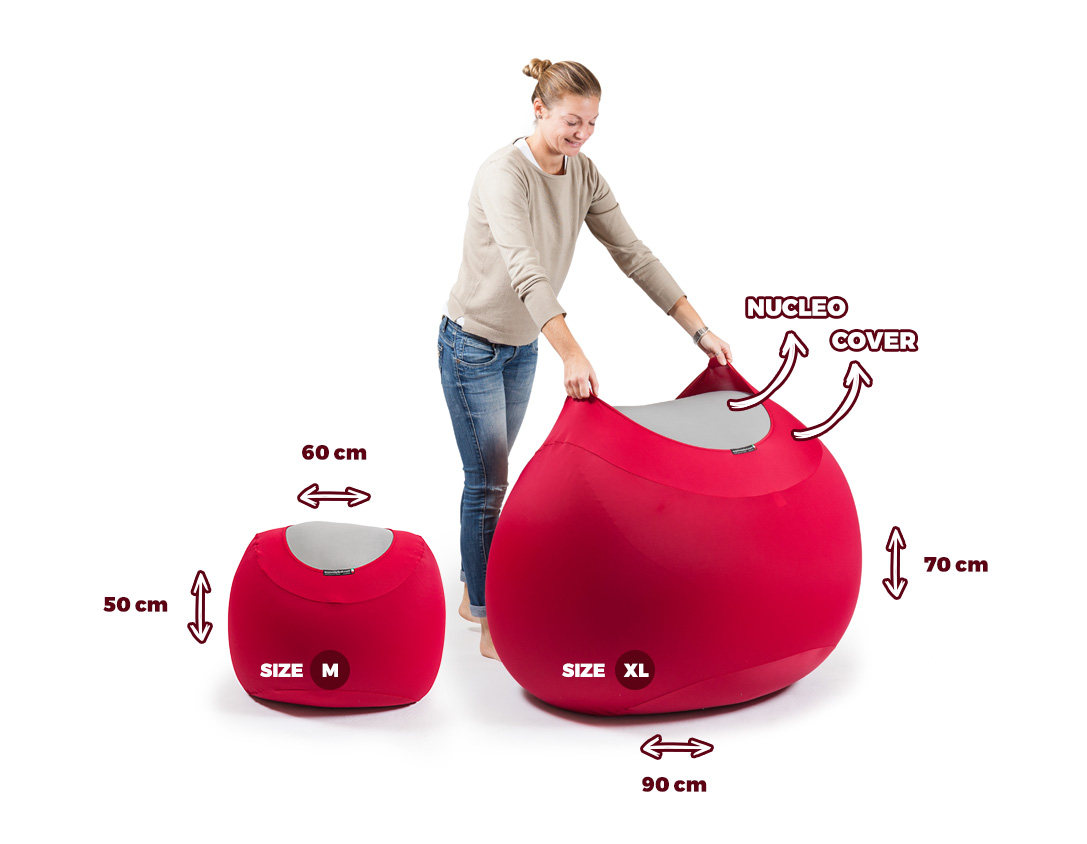 The original pouf made in italy